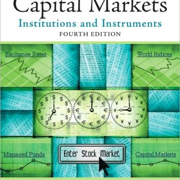solution manual for capital markets institutions and Financial Accounting Weygandt S Kimmel Financial Accounting 7th Edition
