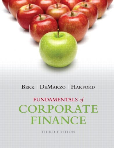 solution manual for corporate finance 10th edition