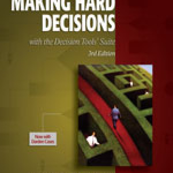 making hard decisions with decision tools solution manual pdf