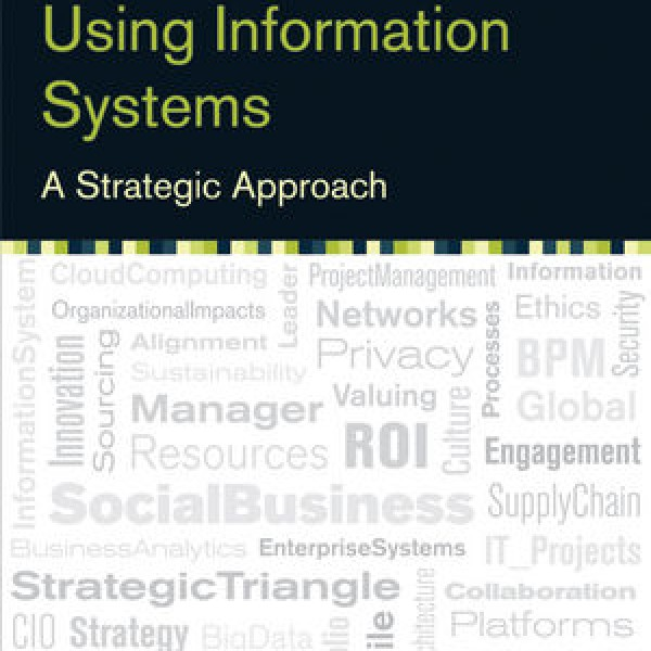 strategic management and information systems Information systems when used for providing information to managers for their  decision-making needs become a management information system the goal of.