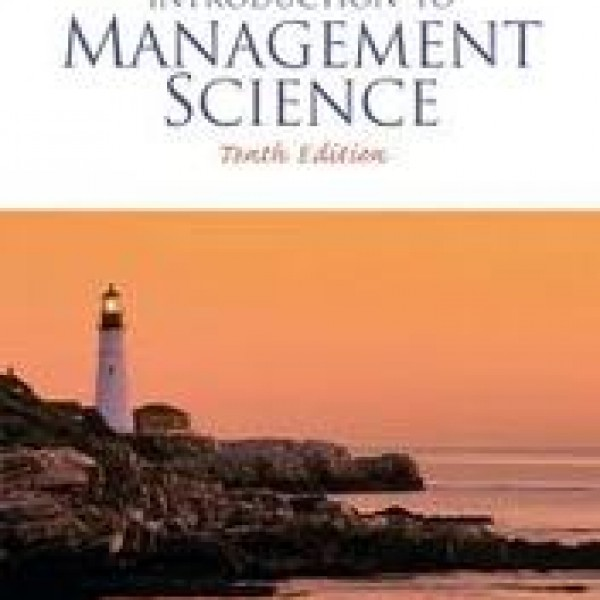 solution manual of an introduction to management science 12edition This is the introduction to management science 11th edition bernard w taylor solutions manual a simple, straightforward approach to modeling and solution techniques.